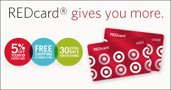 Get A Target REDcard And Get Tons Of Benefits