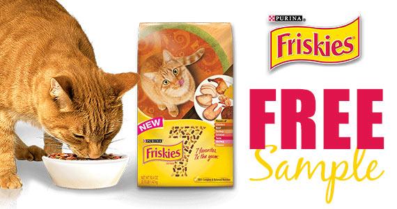 Free Sample Of New Friskies 7