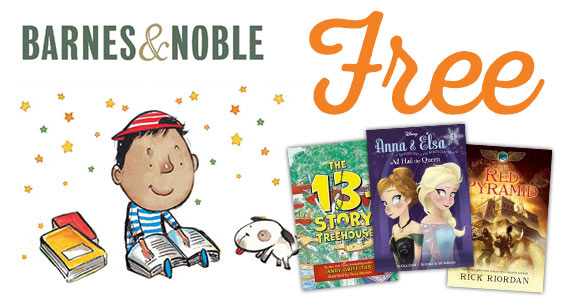 Kid's Earn Free Books From Barnes & Noble