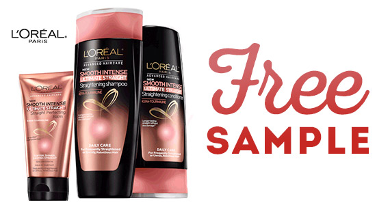 Free Samples Of Ultimate Straight By L'Oréal Paris
