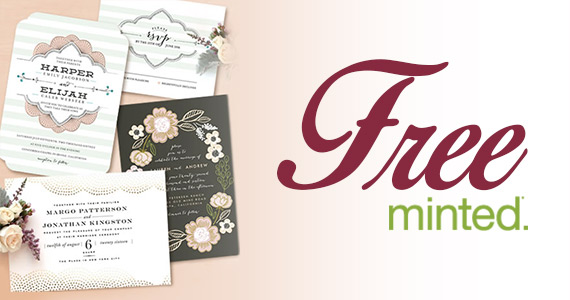 Free Wedding Sample Kit From Minted