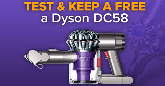 Test and Keep a Free Dyson Vacuum