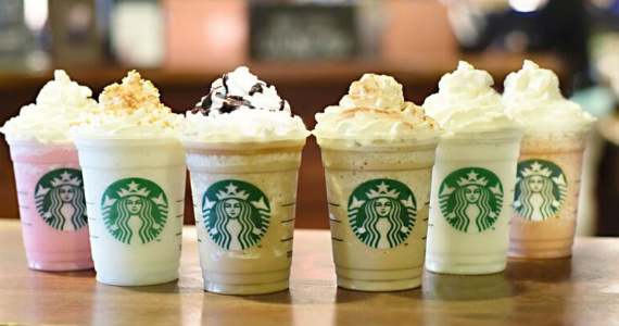Starbucks' Six New Delectable Flavors = Mmmm
