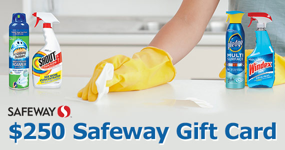 You Could Win a $250 Safeway Gift Card
