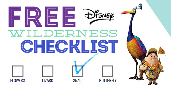 Free Wilderness Explorer Checklist