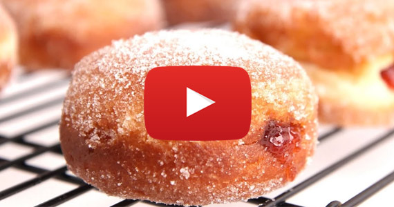 How To: Make Homemade Jelly-Filled Doughnuts
