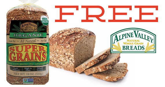 FREE 3 Loaves of Alpine Valley...