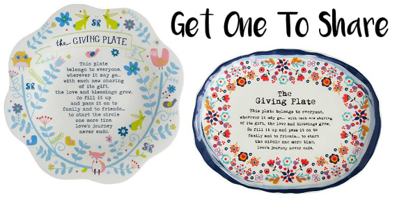 Get A Beautiful Sharing Plate For Your Friends & Family