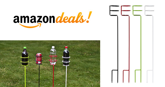 Heavy Duty Outdoor Drink Holder Stakes For $26.99