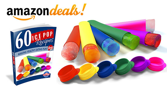 Save On Silicone Ice Pop Molds & 60 Recipes Ebook