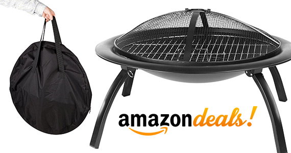 Take The Fire With You With A Portable Fire Pit