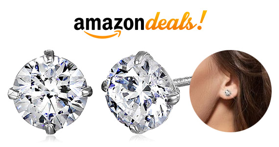 Save 70% Off Swarovski 10k Gold Earrings