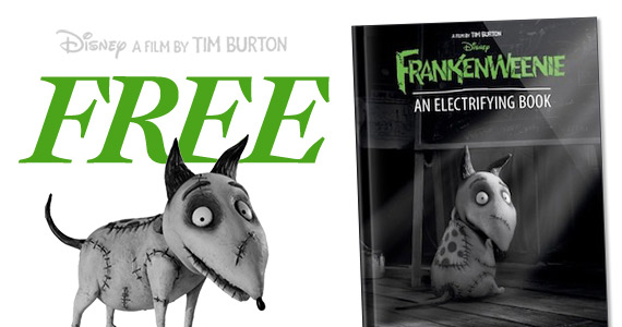 Free Copy Of Frankenweenie: An Electrifying Book