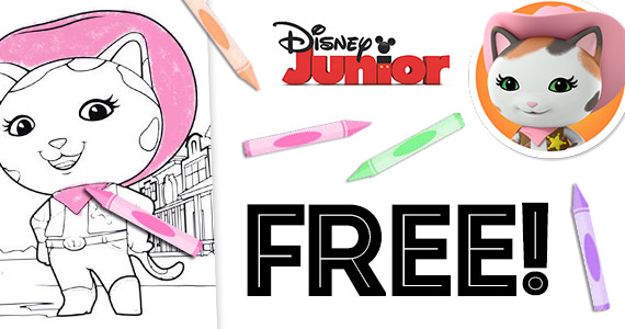 Free Sheriff Callie Coloring Pages