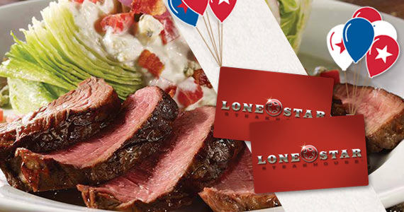 Join The Lone Star Steakhouse E-Club For a Birthday Gift