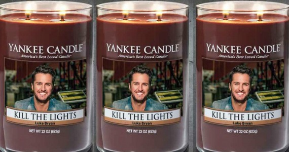 Yankee Candle Has A Luke Bryan Scented Candle
