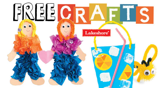 Free Crafts For Kids Every Saturday