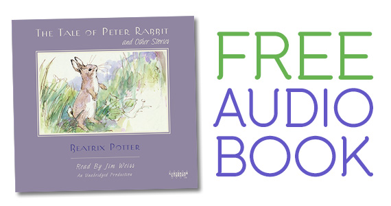 Free Download of 'Tale of Peter Rabbit' Audiobook