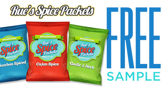Free Sample Of Rue's Spice Packets