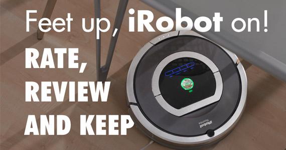 Get an iRobot Roomba