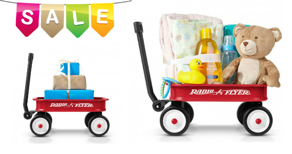 Get A Radio Flyer Little Red Toy Wagon