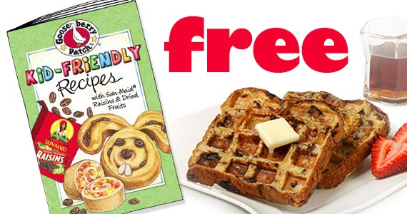 Free Gooseberry Patch Kid-Friendly Recipe Book