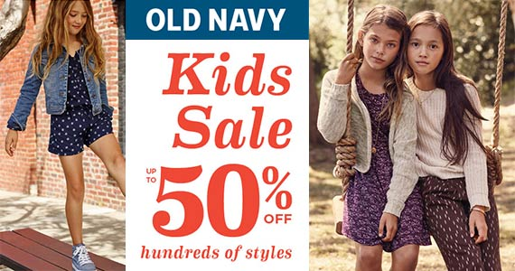 It's The Old Navy Kids & Baby Sale – 50% Off