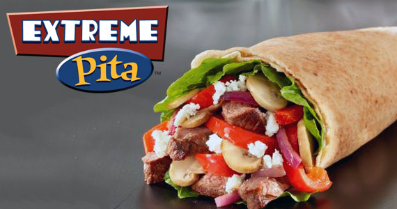 Sign Up With Extreme Pita For a Free Pita on Your Birthday