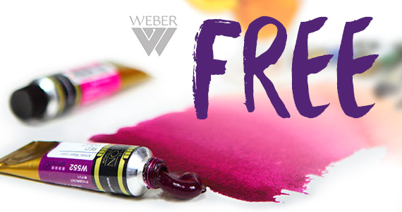 Two Free Mijello Watercolor Paint Sample