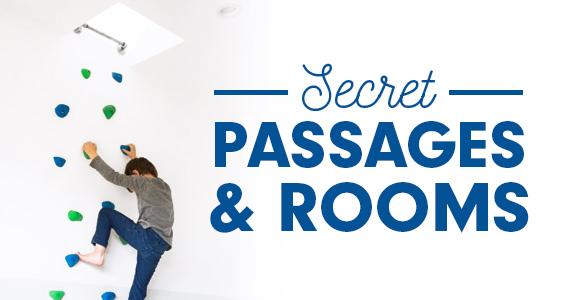 10 Hidden Room & Secret Passage Ideas