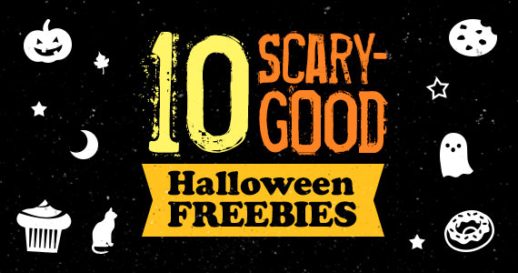 10 Scary-Good Halloween Freebies