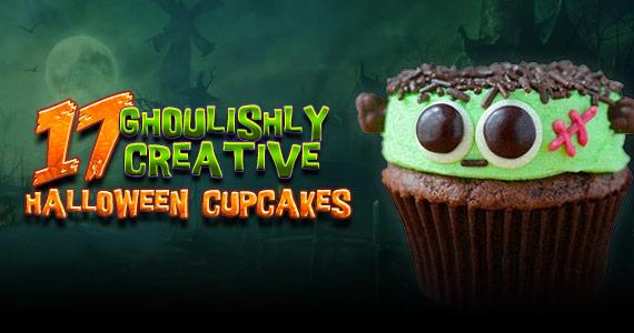 17 Ghoulishly Creative Halloween Cupcakes