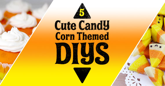 5 Cute Candy Corn Themed DIYs