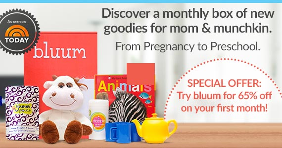 Sign Up With Bluum For Monthly Mom & Baby Products