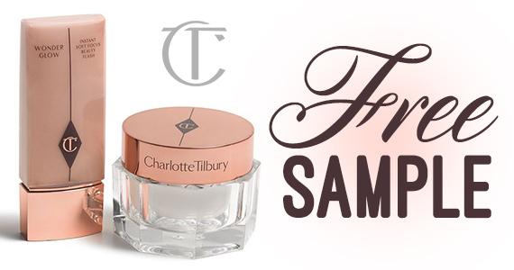 Free Charlotte Tilbury Magic Cream & Wonderglow Samples