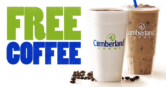 Free Coffee Fridays At Cumberland Farms