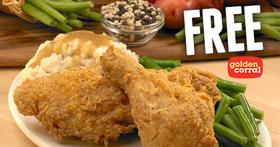 Free Dinner For Military At Golden Corral On 11/11