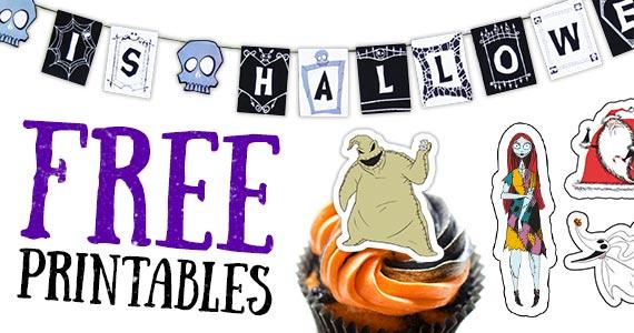 Free Disney Halloween Printables