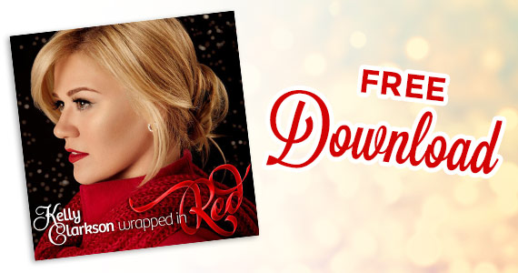 Free Download Of Kelly Clarkson's Wrapped In Red Album