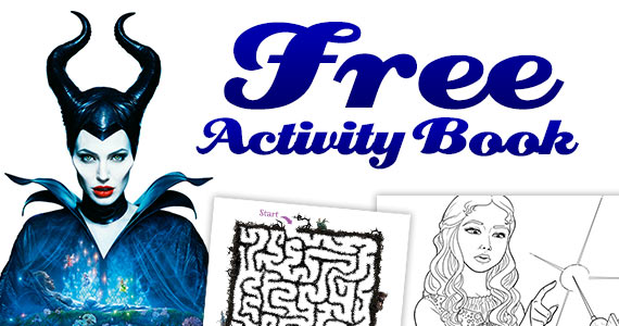 Free Maleficent Printable Activity Book