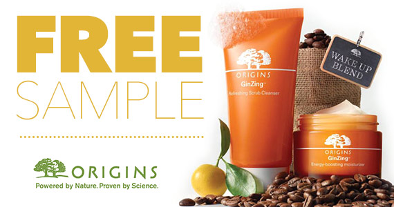 Free Origins GinZing Collection Sample