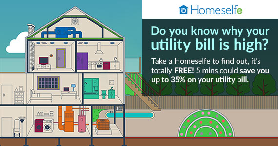 Save Up To 35% On Your Utility Bill With Homeselfe