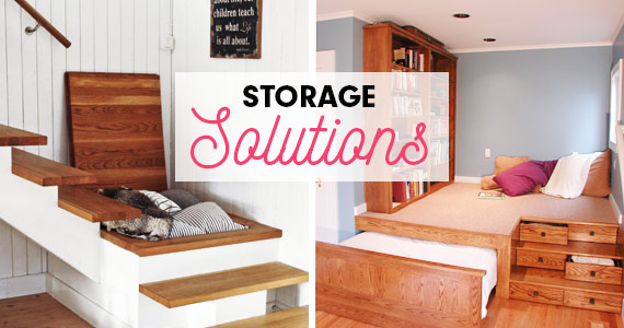 10 Storage Solutions for Small Spaces