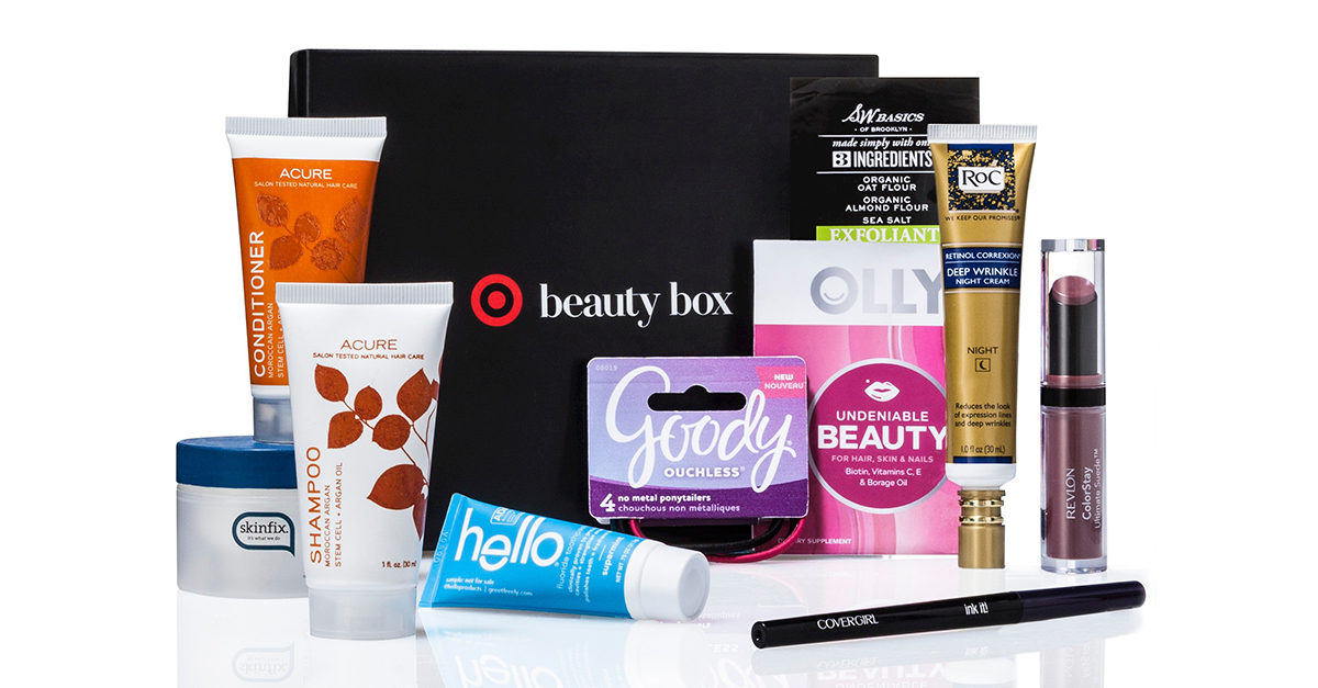 Order A Target Beauty Box For Only $10!