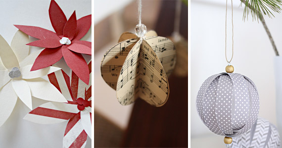 10 Christmas Paper Ornaments Your Friends Won't Believe You Made