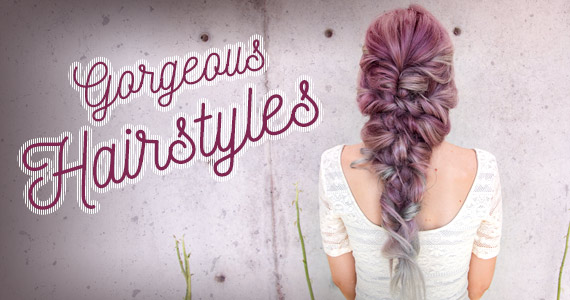 10 Gorgeous Hairstyles & How to Do Them