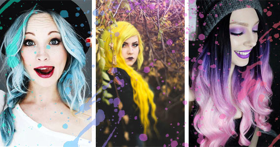 17 Times Women Dyed Their Hair An Unusual Color and Rocked It