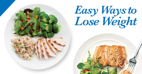 4 Easy Ways to Lose Weight