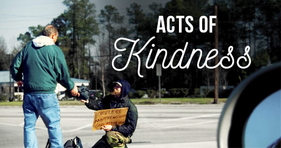 5 Random Acts Of Kindness Ideas To Try