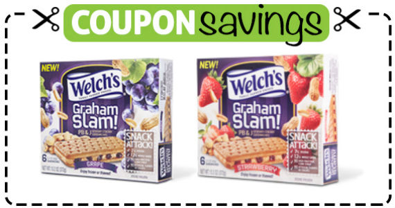 Save $1 on Welch's PB&J Sandwiches